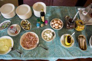 colazioni prodotti tipici agriturismo lago di Garda