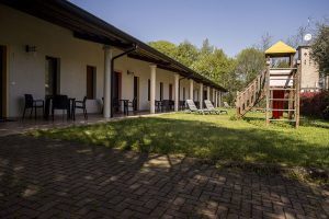 giardino agriturismo lago di Garda alloggi